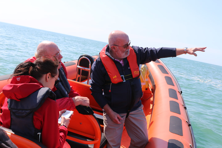 South Coast RIB trip - Guided tour